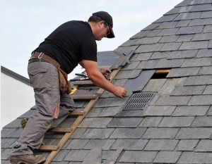 Older and damaged roofing shingles or improper roof flashing was third most frequently reported home insepction problem