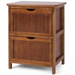 With its clean lines, uncomplicated feature and modern design, the two drawer bedside table can be used as a nightstand and also fits easily next to a sofa in the living room. Made from solid wood construction it is very sturdy and stable.