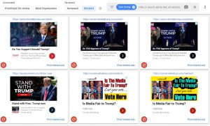 How to block Trump ads in your Google AdSense settings